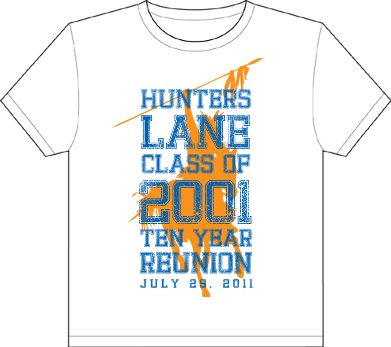 Hunters Lane Shirt Design mockup