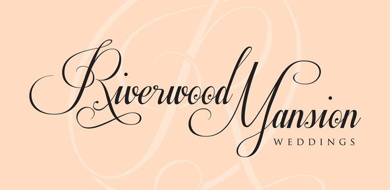 Riverwood mansion logo stacked watermark